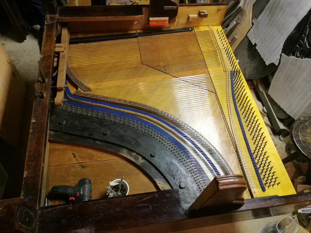 Критерии отсева пианино с обер-демпфером
