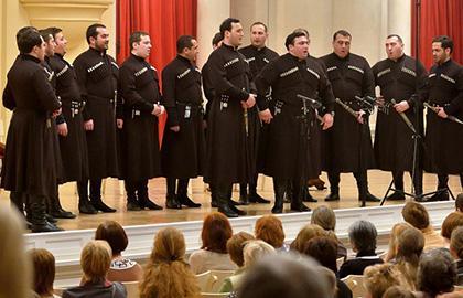 Концерт Патриаршего хора Грузии «Басиани»