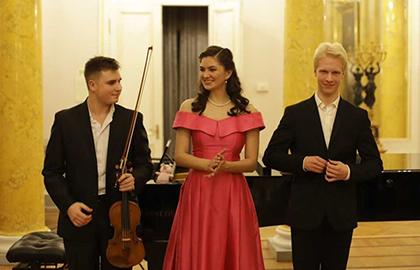 Концерт «Музыкальное путешествие из Европы в Санкт-Петербург»
